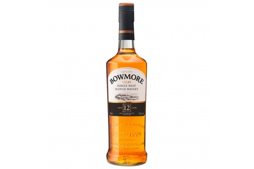 Whisky Malt Bowmore 12 Anos 70 Cl