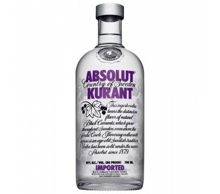 Vodka Absolut Kurant 70 Cl