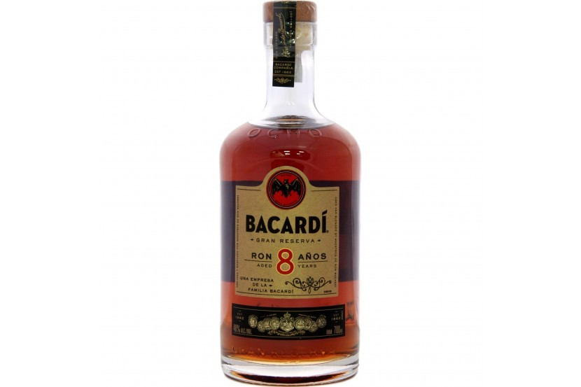 Rum Bacardi 8 Anos 70 Cl