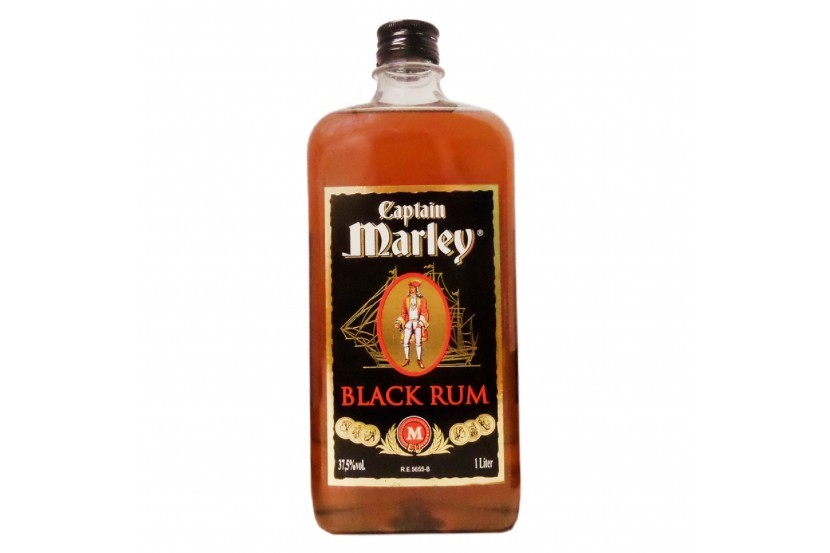 Rum Captain Marley Black 1 L
