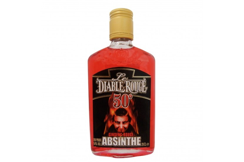 Absinthe Diable Rouge (50%) 20 Cl