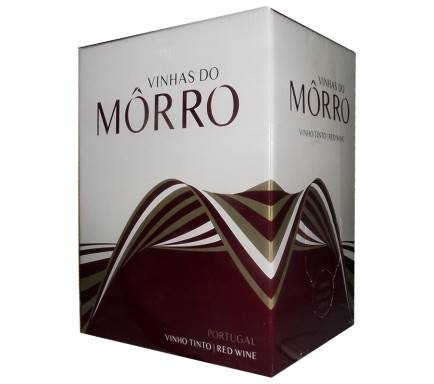 "Vinho Tinto Vinhas Do Morro 5 L """"Bag In Box"""""