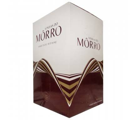 "Vinho Tinto Vinhas Do Morro 20 L """"Bag In Box"""""