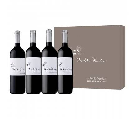 Box 4 Wines (1 Red Malhadinha 2010 & 2011 & 2012 & 2013)