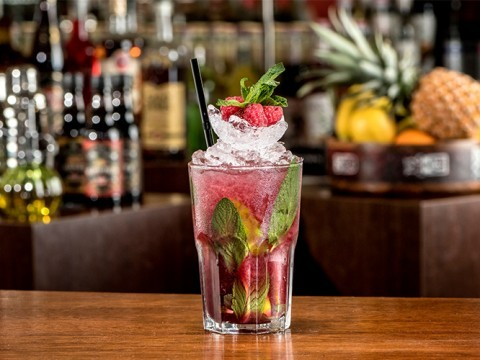 Red Berries Mojito