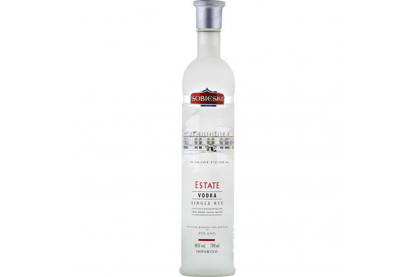 Vodka Sobieski Estate 70 Cl